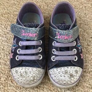 Gently worn Skechers twinkle toes